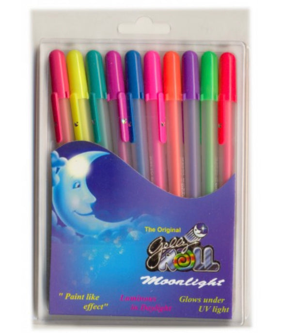 SAKURA GELLY ROLL MOONLIGHT SET OF 10 PENS( XPGB-M)