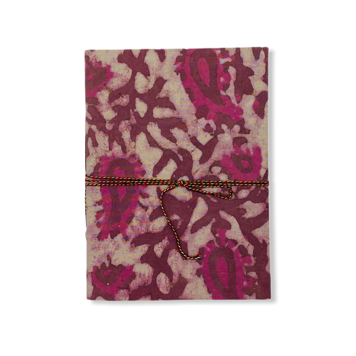 JAIPUR HAND MADE NOTE BOOK ( A5 CLOTH COVER 5 )