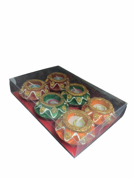 Matki Wax Diya Pack of 6