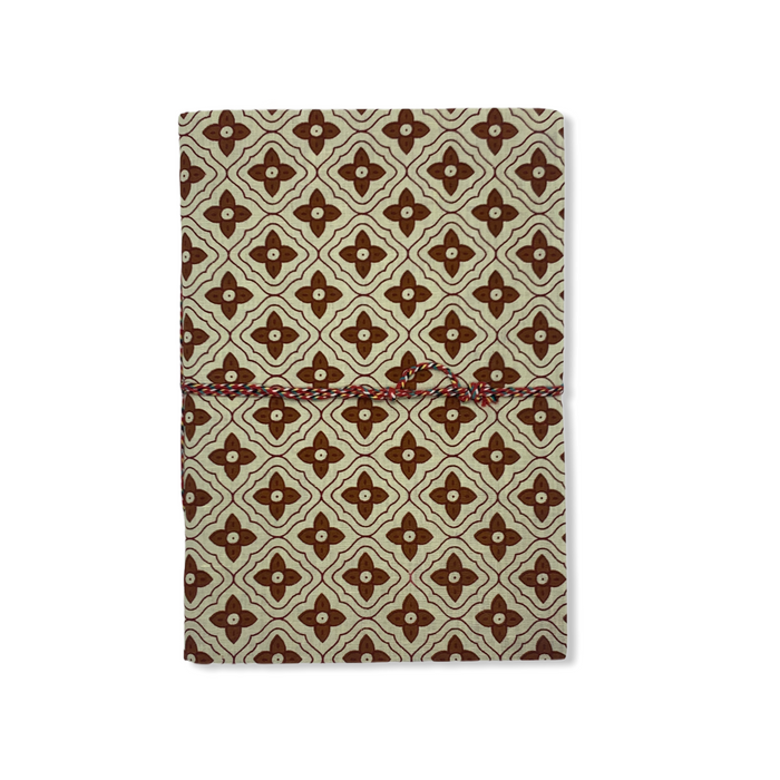 JAIPUR HAND MADE NOTE BOOK ( A4 CLOTH COVER 1 )