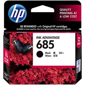 HP 685 BLACK CARTRIDGE