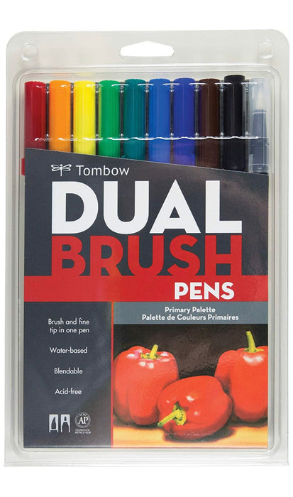 Tombow Dual Brush Pens ( Primary Palette )