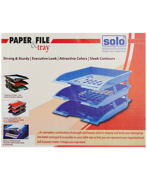 Solo Paper & File Tray TR112 (Set of 2)