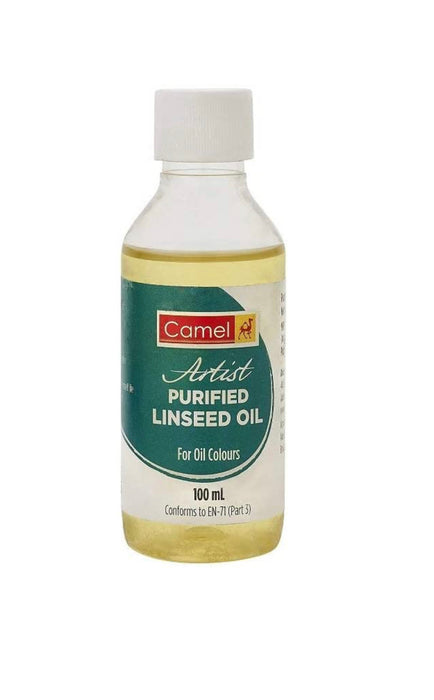 Camel Purified Linseed Oil 100ml