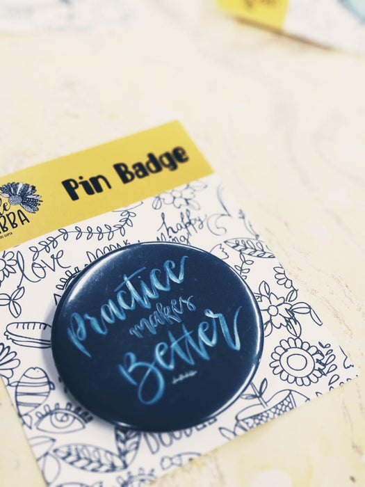 Doodledabba Quirky, Illustrative and Hand Lettered Badges