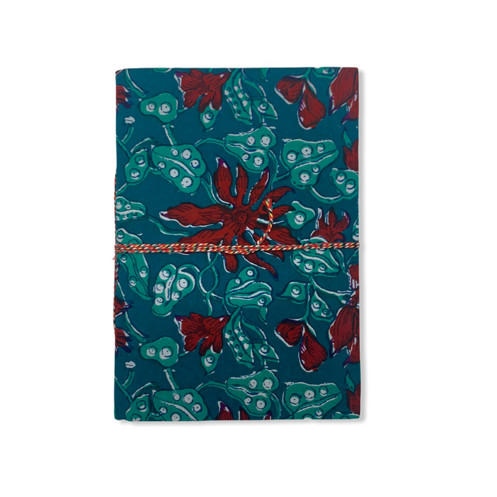 JAIPUR HAND MADE NOTE BOOK ( A4 CLOTH COVER 3 )