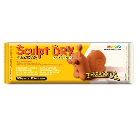 Mungyo Sculpt Dry- Air Dry Terracotta Clay