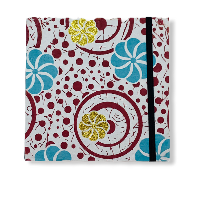 JAIPUR HAND MADE NOTE BOOK( 6x6 SQUARE WHITE )
