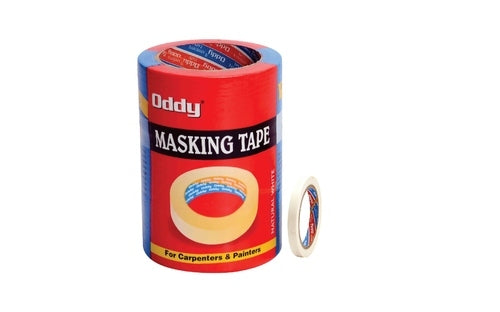 Oddy Masking Tape- 12mm (Pack of 10)
