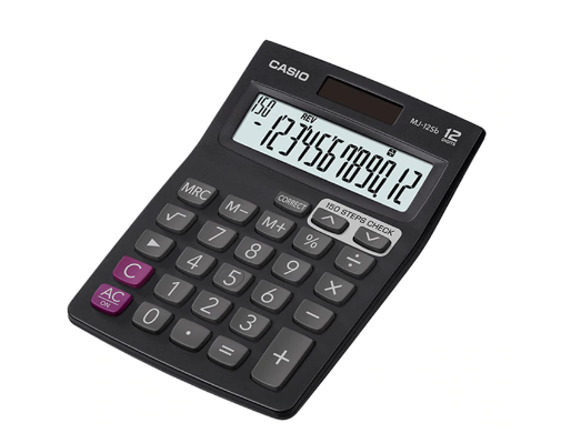 Casio Electronic Calculator- MJ-12Sb