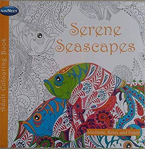 Navneet Serene Seascapes Adult Coloring Book