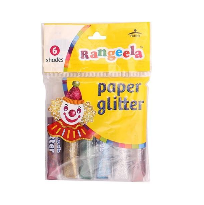 Rangeela Glitter tubes (Pack of 6)