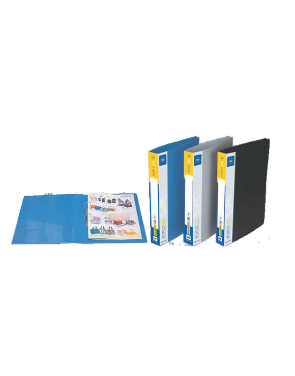 World one Ring binder file- A4 size (Pack of 2)