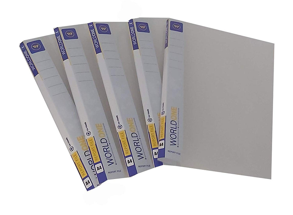 World one report file- A4 size (Pack of 5)
