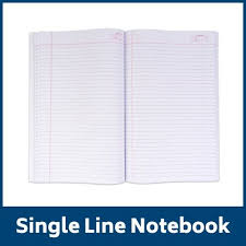 Classmate Exercise Book- Single Line (400 Pages) Pack of 6