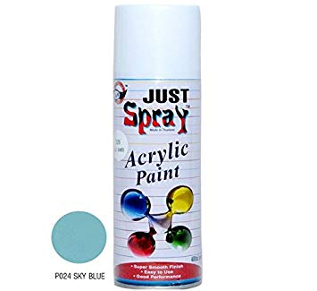 Just Spray Acrylic Paint ( Sky Blue )