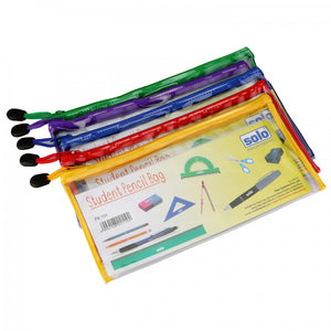 Solo Student Pencil Bag- Pack of 5