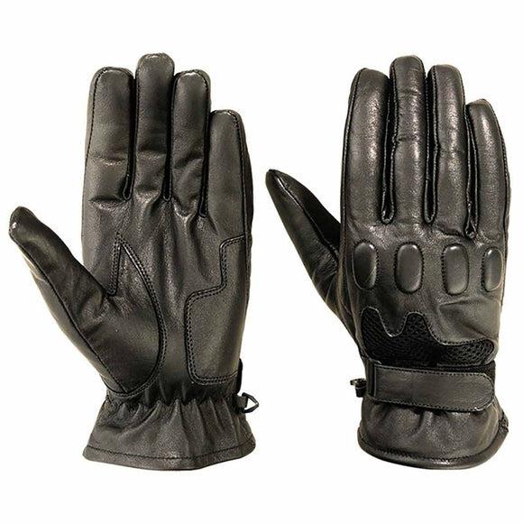 Motorbike Premium Leather Mesh Gloves Bike Riders Sports Summer Gloves