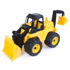 Kids Dolu Mega Loader With Excavator For Outdoor Fun Activity