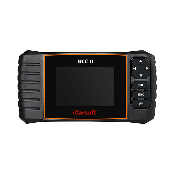 iCarsoft BCC II OBD2 Scanner Tool For Chrysler Jeep GM Chevrolet Buick Cadillac