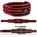 Weight Lifting Gym Red Training Weight Lifting Belt Designed to Offer Back Su...
