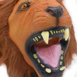 New Latex Lion Head Masks Animal Full Face Masquerade Party Halloween Mask Props