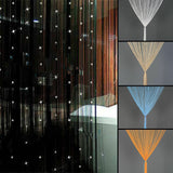 Beaded String Curtain Door Divider Tassel Screen Panel Home decor Window Curtain