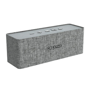 Creative Nuno Designer Cloth Portable Bluetooth Wireless Speaker PC Laptop Grey