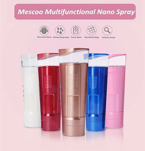 USB Nano Spray Air Humidifier Filling Water Meter Bluetooth Speaker Power bank