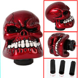 Skull Style Car Truck Red Manual Hand Bar Gear Knob Stick Shift Lever Shifter