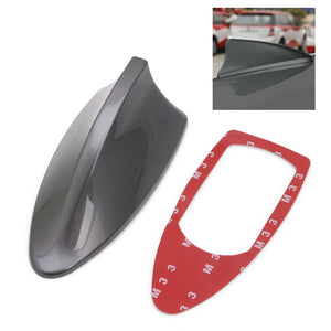 Grey Universal Car Auto Roof Shark Fin Special Radio AM/FM Signal Aerial Antenna