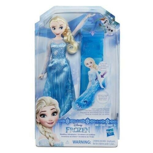 Hasbro Disney Frozen Sledding Adventures Girls Doll Toy for Kids