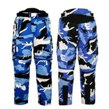 Cordura Motorcycle CAMO Textile Pants Cargo Waterproof CE Approved Armor
