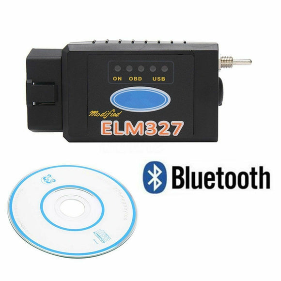 Forscan Bluetooth Diagnostic Tool Switch Modified ELM327 For Ford HS MS / Mazda