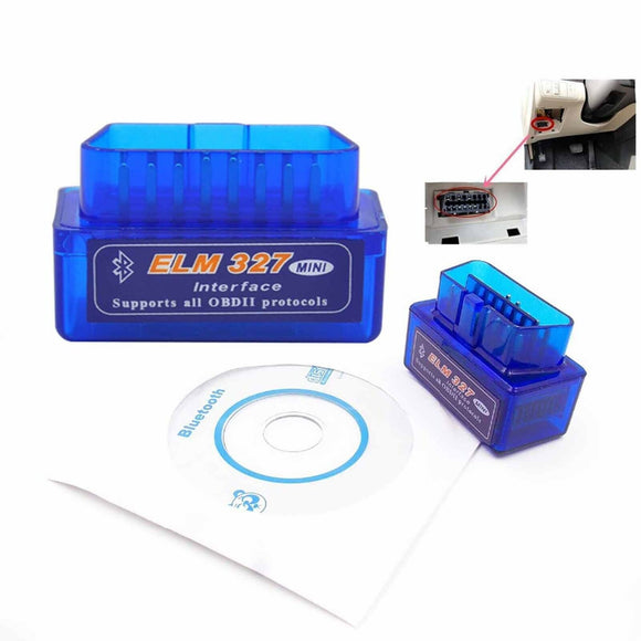 Mini Auto Car ELM327 V1.4 Wireless BT OBD2 Can Bus Scan Scanner Tool for Android