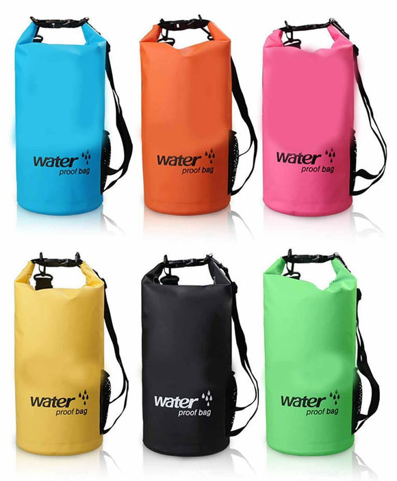 New 10L PVC Waterproof Fabric Dry Carry Bag Sack Travel Camping Lightweight