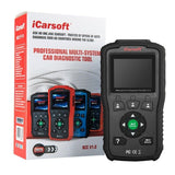 iCarsoft Multi-systems Scan Tool BCC v1.0 for CHRYSLER/JEEP/GM ABS SRS Reset PP
