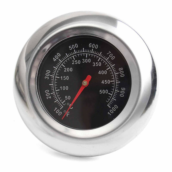 Stainless Steel BBQ Smoker Grill Thermometer Temperature Gauge 50 500℃