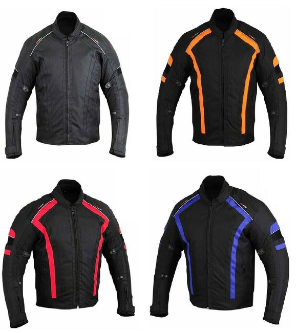 Motorbike Jacket CE Approved Armour Abrasion Resistant Summer Biker Jackets