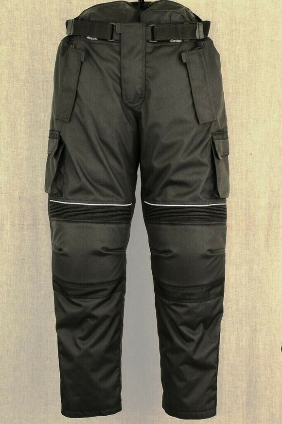 New Men Motorbikes Motorcycle Trousers Pants Camo Style Cordura 100% Waterproof