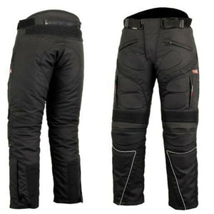 Brand New Mens Biker Trousers Motorcycle Summer Pants Cordura Textile Waterproof