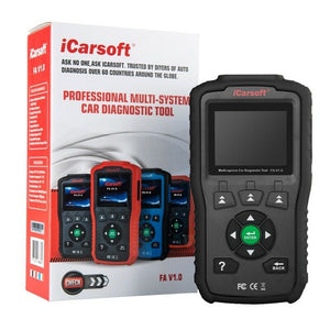 iCarsoft FA V1.0 OBD Car Diagnostic Scan Tool Code Reader For Fiat Alfa Romeo