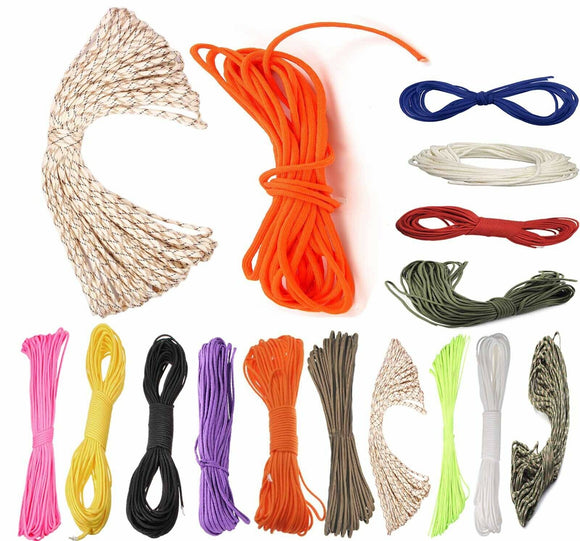 16M Nylon Desert Paracord Parachute Cord Camping Hiking Survival String Ropes