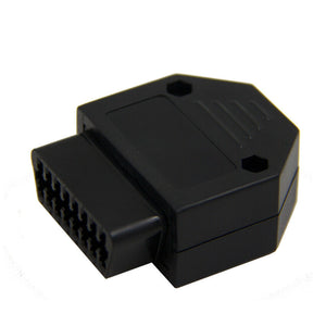 new OBD2 to  OBD 16Pin Female Connector Adapter with Screw Diagnostic