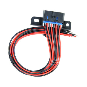 30cm length Terminal OBD 16P Connector cable full chip Diagnostic Adapter MM