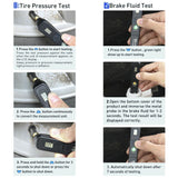 Brake Fluid Tester Or Tpms Tire Pressure Test p   2in1 Digital To Test N8A2 MM
