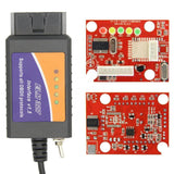 ELM327 USB modified for Ford ELMconfig latest chip HS-CAN MS-CAN Forscan OBD2
