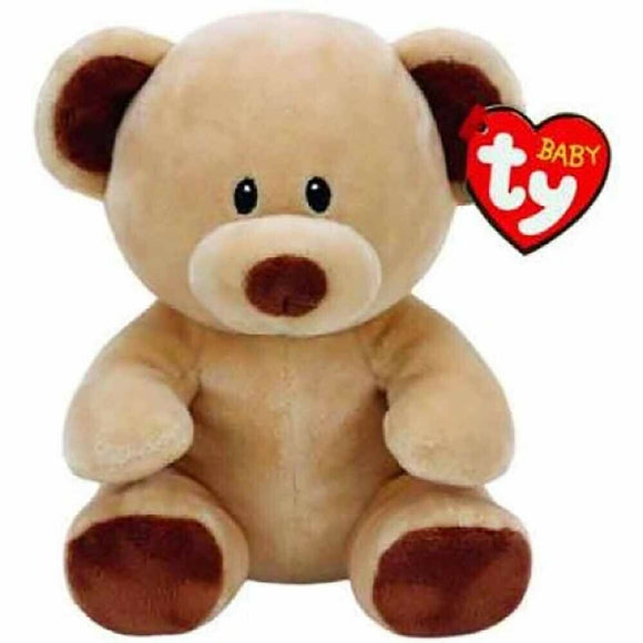 Brand New Brown Bear Stuff Toy Ty Baby Regular Soft Velvety Plush Kids Stuff ...