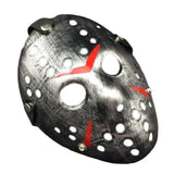 2x Halloween Jason Party Mask Voorhees Friday the 13th Horror Movie Costume Prop