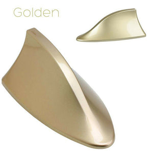 Golden Car Auto SUV Roof Special Radio AM FM Shark Fin Antenna Aerial Signal
